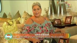 Lupita D´Alessio comparte detalles de Hoy voy a Cambiar