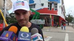 Julián Gil enfrenta problemas al presentar su restaurante en Miami