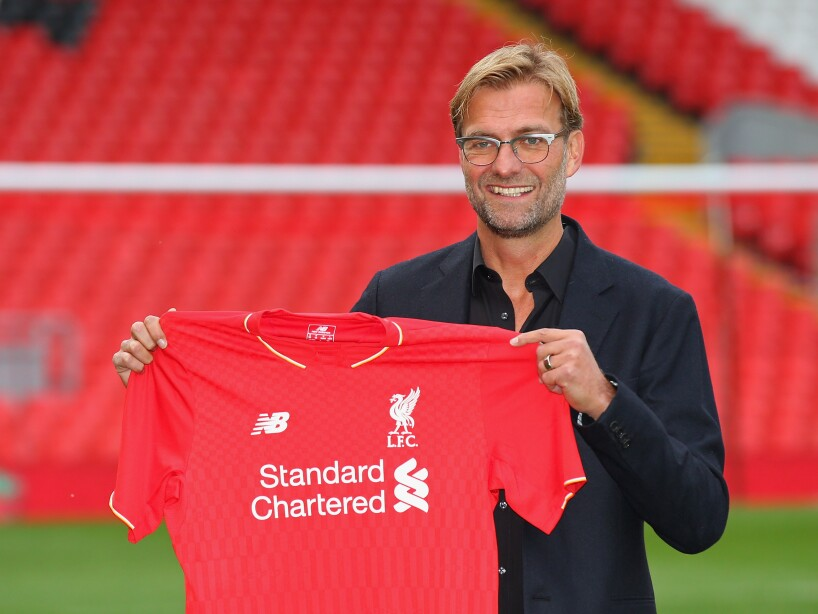 Liverpool Unveil New Manager Jurgen Klopp