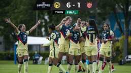 Resumen   América Femenil gana, gusta y golea 6-1 al Necaxa