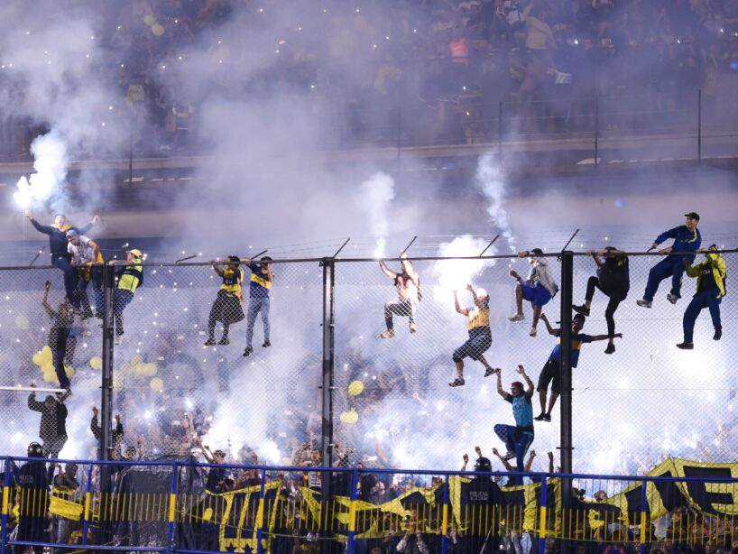 Boca Juniors Celebrate Championship at La Bombonera