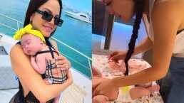 Natti Natasha sorprende en redes al aparecer en tierno momento con su bebé