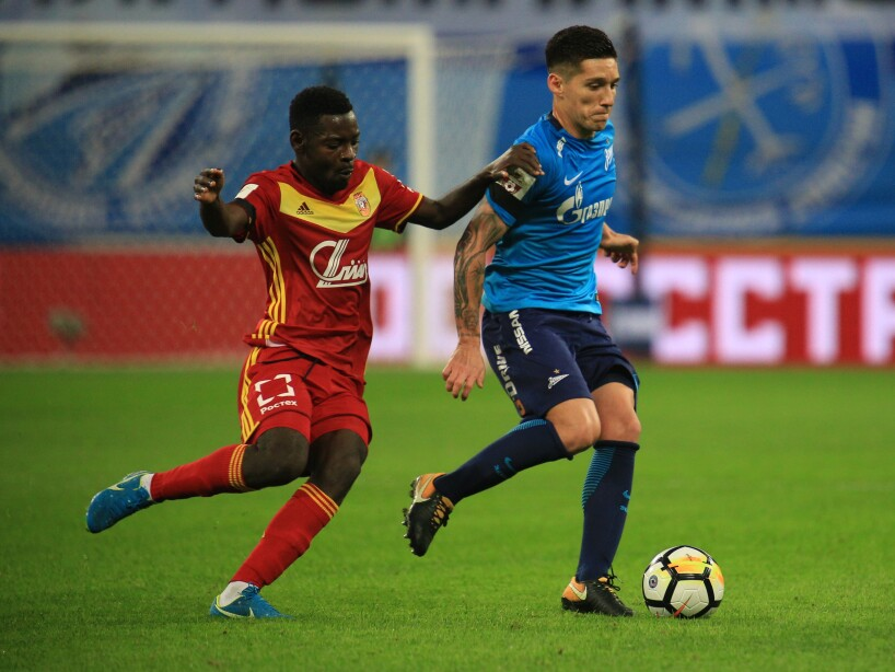 FC Zenit Saint Petersburg vs FC Arsenal Tula - Russian Premier League