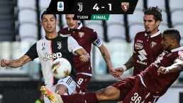 La Juventus de CR7 venció al Torino y avanza por el 'Scudetto'