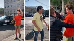 El 'Burro' Van Rankin le hace broma pesada a Mauricio Garza; casi se lo lleva la patrulla