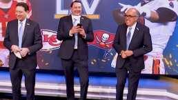 Así se vivió el detrás de escenas del Super Bowl LV con los 3 Amigos