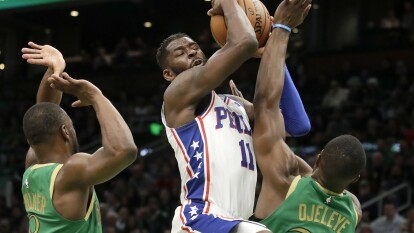 Philadelphia 76ers 115-109 Boston Celtics