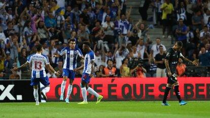Porto gana 4-0 su primer partido como local ante Vitoria Setúbal en la Fecha 2 en la Liga de Portugal.