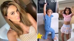 'Tengo unas hijas loquitas': Jacky Bracamontes muestra cómo la presionan para que haga ejercicio