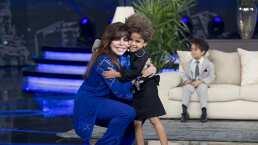 Verónica Castro recibe un divertido homenaje en Pequeños Gigantes