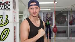 David Palacio, entrenador de box para que los niños no anden en malos pasos