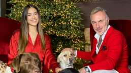 """Gianluca Vacchi y Sharon Fonseca presumen su lujoso árbol: """"Emocionados por esta Navidad"""""""