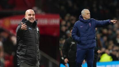 José Mourinho y Josep Guardiola, son dos de los mejores técnicos del futbol en la actualidad. Hay pocos futbolistas que tienen el privilegio de haber sido dirigidos por estos dos genios, y aquí te contamos algunos de ellos.