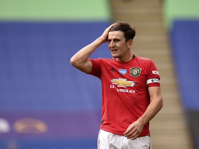 Soccer Man Utd Maguire