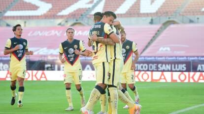 Las Águilas derrotaron al Atlético San Luis a domicilio | Los del 'Piojo' volvieron al camino del triunfo luego de vencer 2-1 a los de Guillermo Vásquez.
