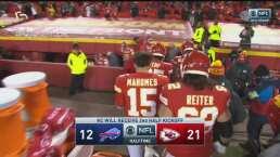 ¡Despertaron los Chiefs! Anotaron 21 puntos en el segundo cuarto