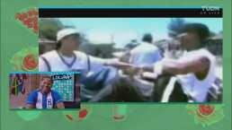 ¡No te lo puedes perder! Carlos Pavón cantando rap a sus 20 años