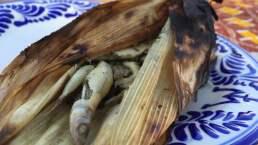 Tamal de charalitos y charalitos tradicionales