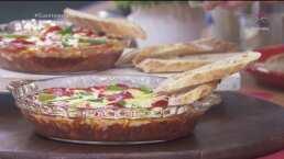 Botanas para el Super Bowl: Dip de pizza
