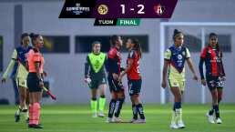 ¡Cae el América! Atlas vence 1-2 con el doblete de Alison González