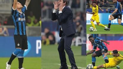 Con goles de  Lautaro Martínez y Antonio Candreva, el Inter consigue los tres puntos en casa.