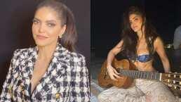 Ana Bárbara se encuentra a pequeñas fans en sus vacaciones y cantan juntas 'Lo Busqué'