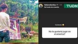"""Hijo de Chucho Benítez afirma que """"sería un honor"""" jugar en el América"""