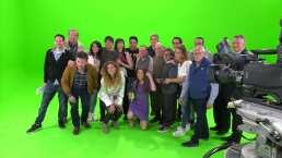 Actores de 'La Parodia' se despiden de su segunda temporada