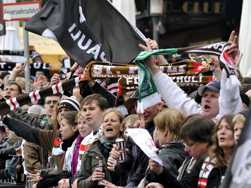 Germany Soccer Bundesliga St. Pauli