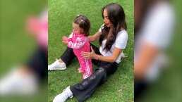 Así fueron los primeros pasos de la hija más pequeña de Inés Gómez Mont