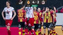 El Mechelen se le complicó al Zulte Waregem y le quitó los tres puntos