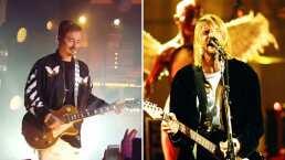J Balvin sacó su lado rockero tocando un cover de Nirvana en la guitarra eléctrica