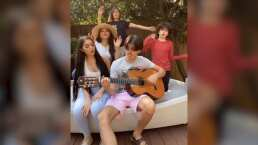 Ana Bárbara y sus hijos te enamorarán cuando los escuches cantar juntos 'Lo Busqué'
