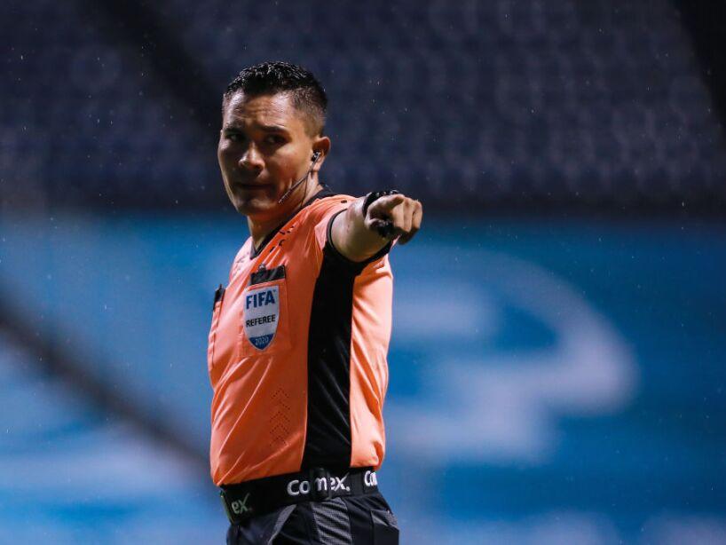 Fernando Guerrero, árbitro de la Comisión de la Femexfut.