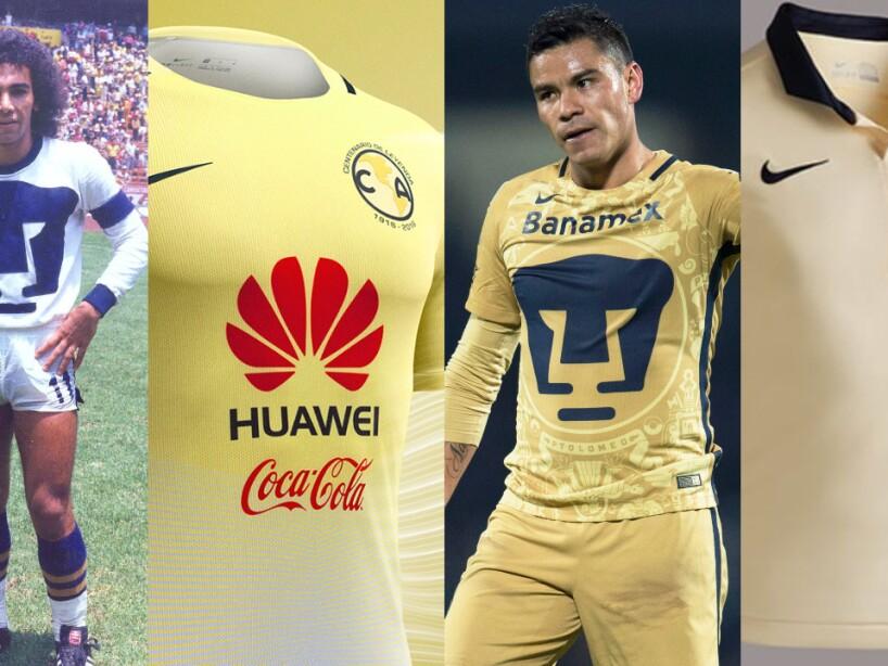 Playeras conmemorativas de Pumas y América.jpg