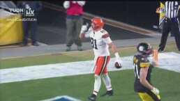 ¡Espectacular! Browns consigue el 35-7 con anotación de Hooper