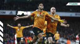 Raúl Jiménez vuelve a darle el triunfo al Wolverhampton