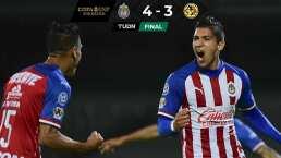 ¡Clásico de antología! Chivas gana 4-3 y va a la Final de la Copa GNP