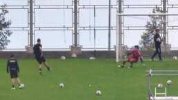 ¡Rompe la cuarentena! Cristiano Ronaldo se entrena en el Estadio de Madeira