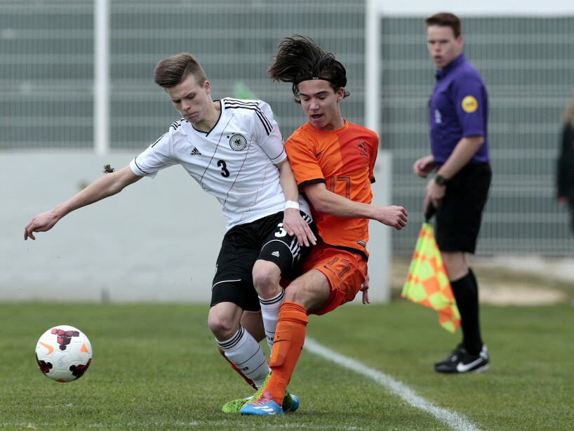 U16 Netherlands v U16 Germany - UEFA Under16 Tournament