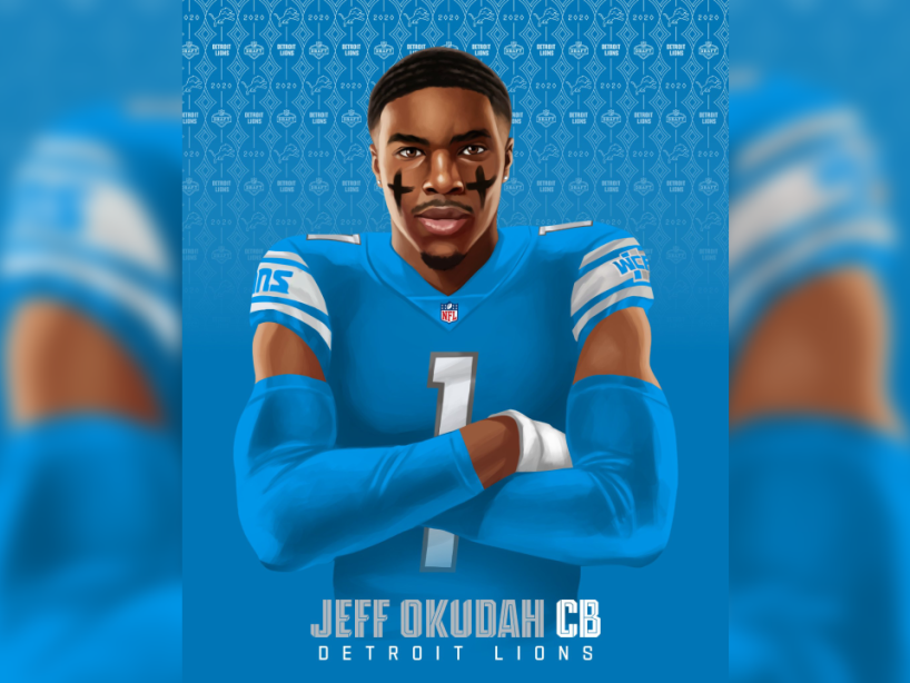 Jeff Okudah, Draft NFL, 1.png