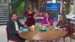 """Galilea Montijo casi es traicionada por el escote de su vestido en 'Hoy': """"Las niñas quieren divertirse"""""""