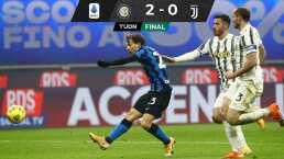 CR7 no pudo anotar y el Inter empata en la cima a Milan