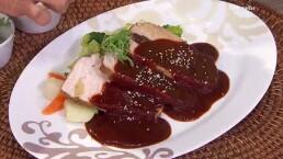 RECETA: ¡Cocina un delicioso Lomo de cerdo mechado con adobo!