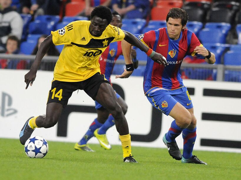FC Sheriff's Burkinabese midfielder Beja