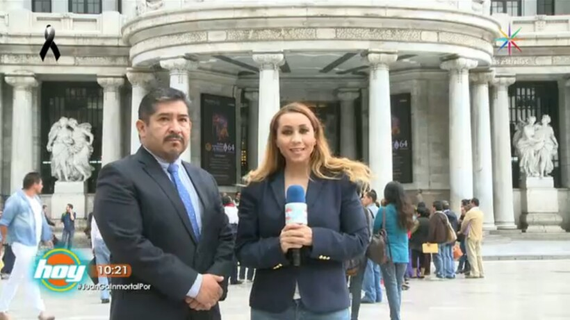 Detalles del homenaje para Juan Gabriel en Bellas Artes