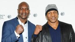 Evander Holyfield y Mike Tyson están de vuelta en el ring