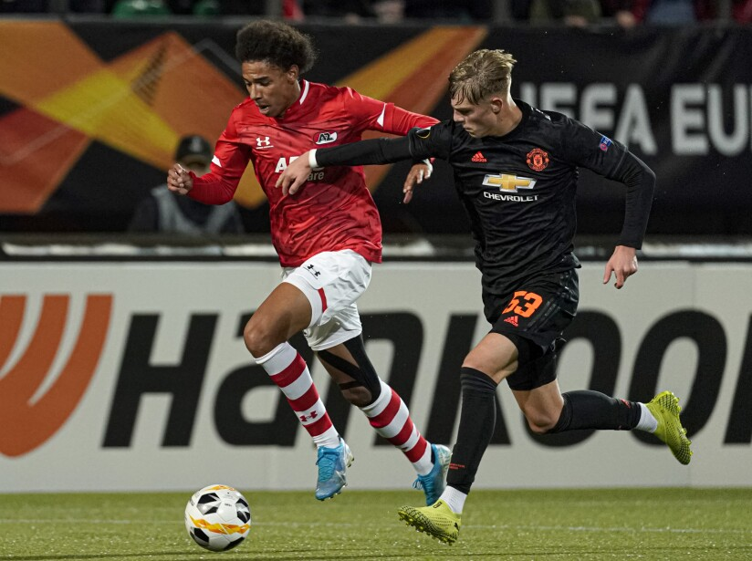 AZ Alkmaar v Manchester United - UEFA Europa League