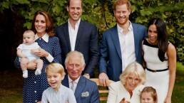 Así luce el árbol de Navidad de los duques de Sussex y Cambridge