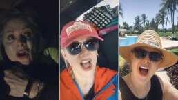 Erika Buenfil está de vacaciones y lo presume en divertido TikTok